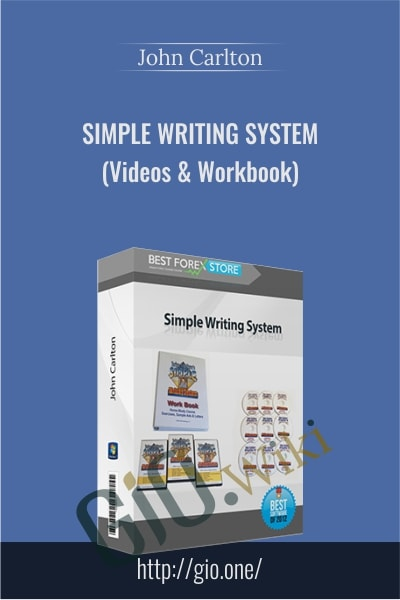 Simple Writing System (Videos & Workbook) - John Carlton