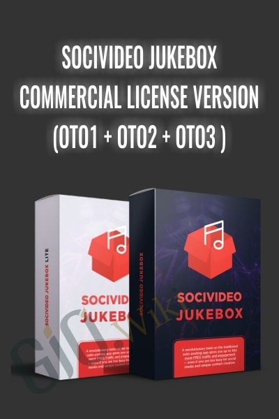 SociVideo Jukebox – Commercial License Version
