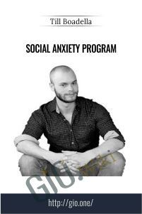 Social Anxiety Program - Till Boadella