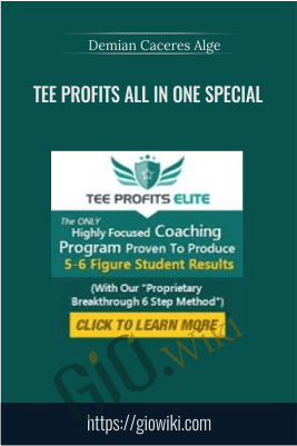 Tee Profits All In One Special – Demian Caceres Alge