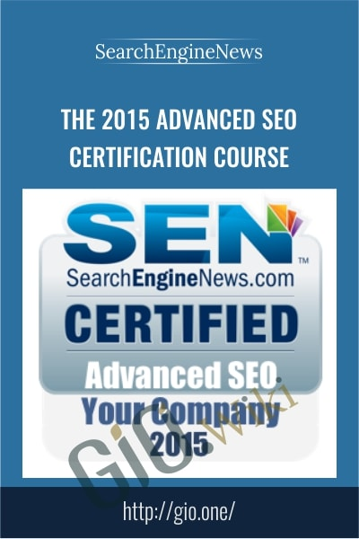 The 2015 Advanced SEO Certification Course - SearchEngineNews