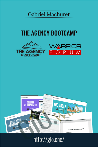 The Agency Bootcamp - Gabriel Machuret