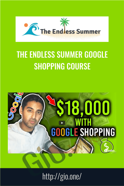 The Endless Summer Google Shopping Course - Sharad Thaper