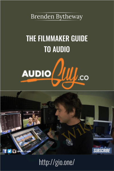 The Filmmaker Guide To Audio - Brenden Bytheway