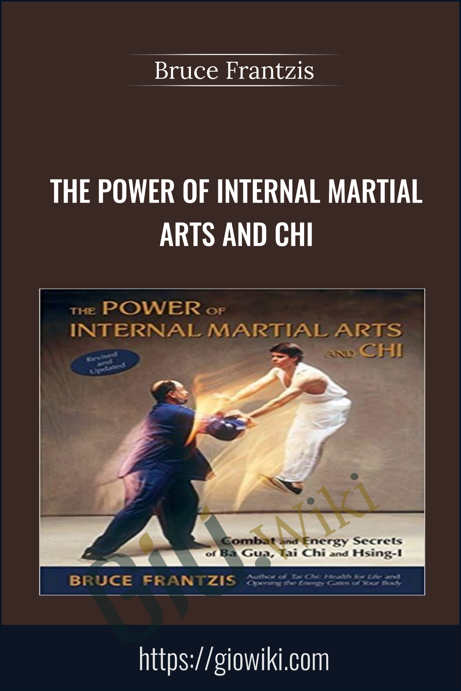The Power of Internal Martial Arts and Chi - Bruce Frantzis