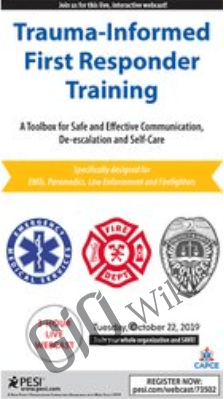 Trauma-Informed First Responder Training: A Toolbox for Safe and Effective Communication, De-escalation and Self-Care - Melinda Gronen