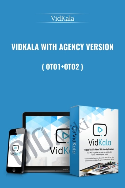 VidKala With Agency Version