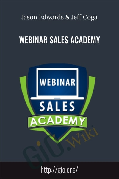 Webinar Sales Academy - Jason Edwards & Jeff Coga