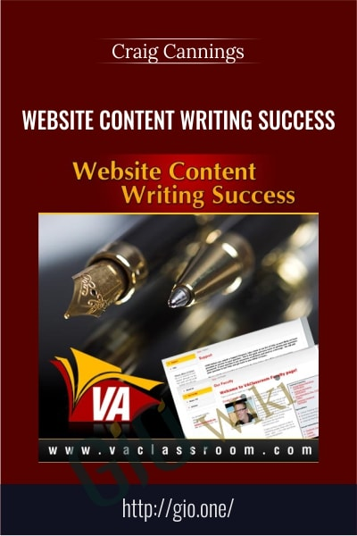 Website Content Writing Success - Craig Cannings