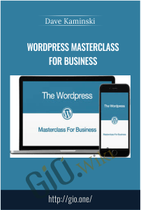 WordPress Masterclass For Business - Dave Kaminski