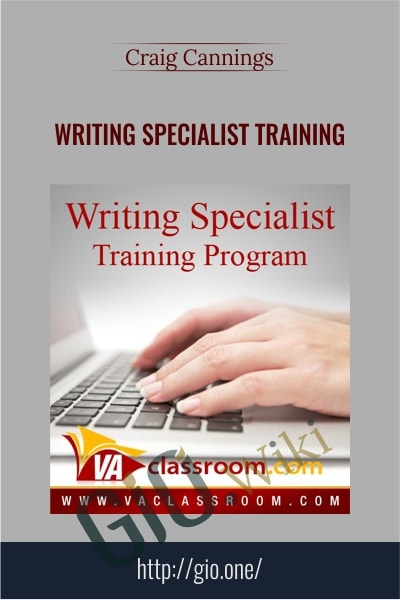 Writing Specialist Training - Craig Cannings