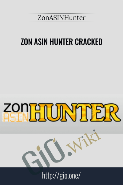 Zon Asin Hunter Cracked - ZonASINHunter
