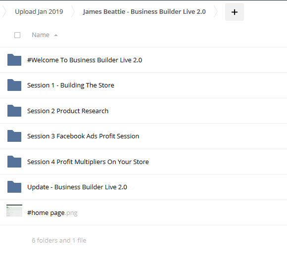 Business Builder Live 2.0 - James Beattie