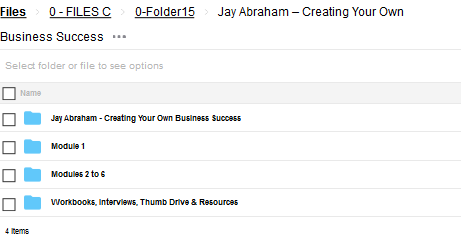 Creating Your Own Business Success – Jay Abraham