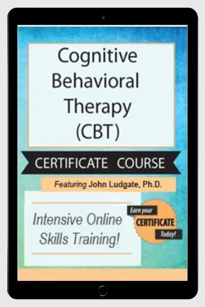 Cognitive Behavioral Therapy (CBT) Intensive Training & Certificate Course